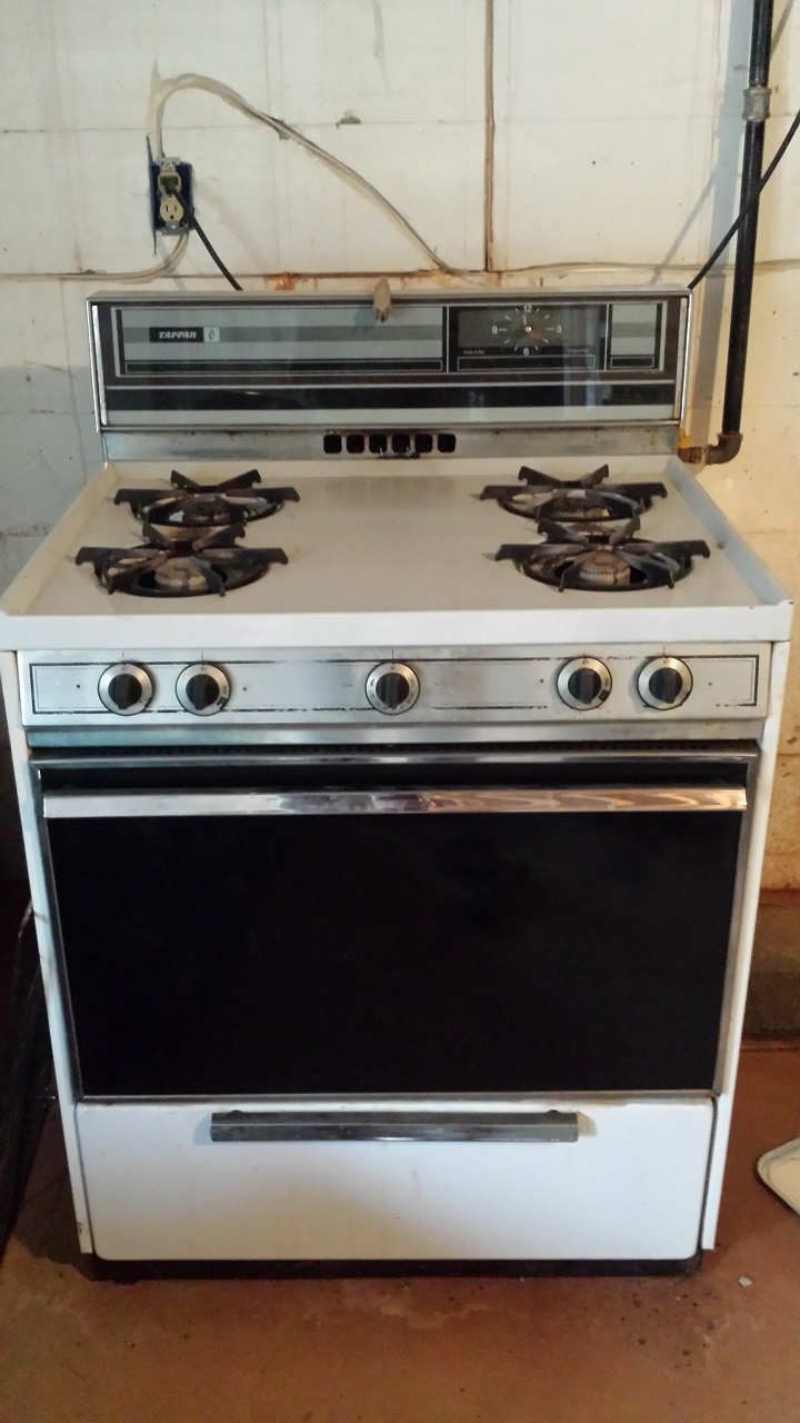 Tappan Oven Flame Too High - Gas to LP